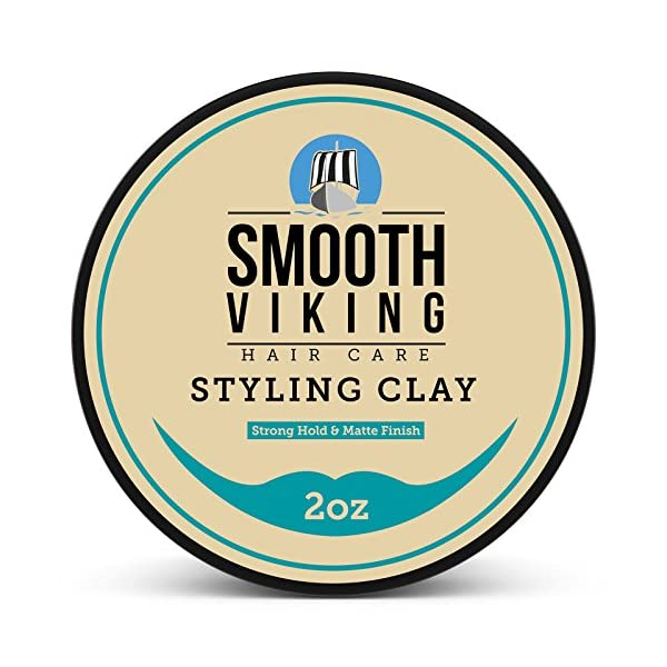 Beauty Shopping Hair Clay For Men | Smooth Viking Hair Styling Clay For Matte Finish & Strong