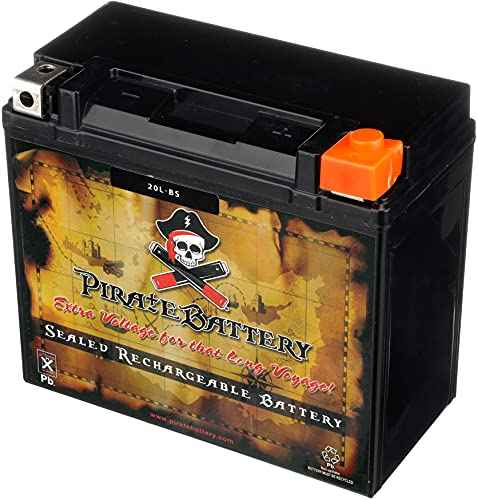 Rechargeable YTX20L-BS Motorcycle Battery