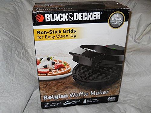 Black & Decker Non Stick Belgian Waffle Maker