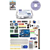 It is easy for you to learn UNO R3 Microcontroller and programming. A wide variety of electronic components - The best choice for Uno beginners. All components are well-Packed in a Box. A detailed Tutorial/guidebook(PDF) with 30 lessons is provided.