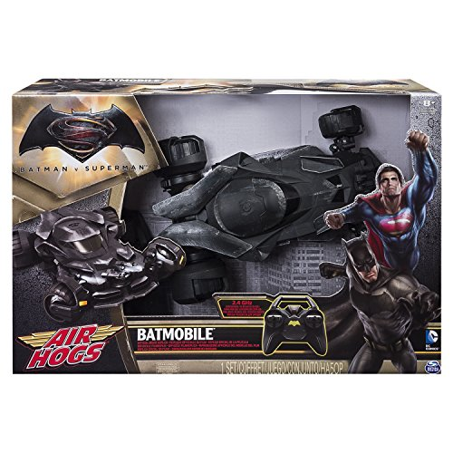 Spin Master 6026063 Air Hogs Batmobile - Coche de Juguete