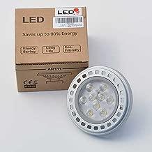 AR111 LED G53 base Spot Light Bulb with 9 Hi-Output LED12 Volt AC DC,1531