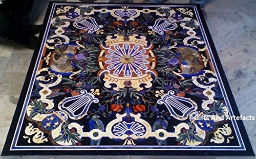 Gifts and Artefakte 132,2 x 106,7 cm Marmor-Konferenztisch mit Marmor-Einsatz