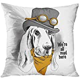 Pillowcase Size:18x18 inches Pillowcases Material:Polyester Pillow Cases Feature:Print Square Throw Pillow Cover with Hidden Zipper Pillow covers only,pillow inserts are not included. Suitbable:Living Room,Bedroom,Sofa,Couch,Seat,Office and Cafe