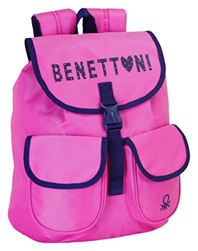 Benetton mochila infantil muy colorida