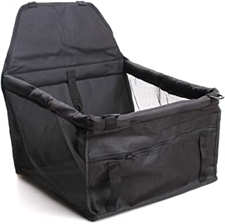 Car storage Box Car Booster Seat for Pets, Dog Car Seat, Includes Seat Belt Tether
