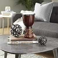 Deco Wood & Leather Djembe Drum