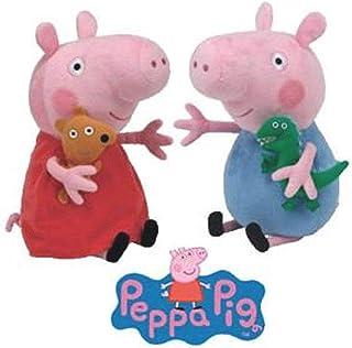 Ty Beanie Babies - Peppa Pig & George 15cm
