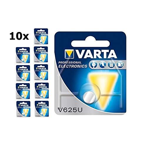 10x VARTA V625U LR9 PX625A Knopfzelle Knopfbatterie Batterie Alkaline 1.5V