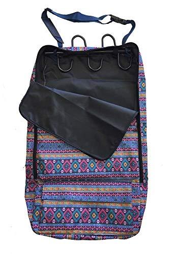 AJ Tack Wholesale Deluxe-Halfter/Tragetasche für Zaumzeug, 600 D, mehrere Taschen, Aztekenmuster