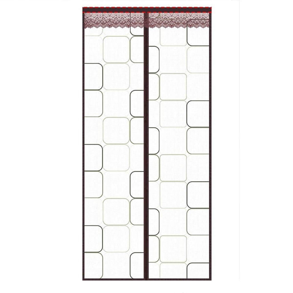 たくさんのゆるいことわざフライスクリーンドア 防虫ドアエアコン気密ドアカーテン防蚊分離ヒューム保温?防風簡単設置隙間なし JFIEHG (色 : E, サイズ : 120x230)