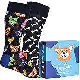 Happy Socks 2-Pack Dog Lover Unisex - algodón talla: 41/46
