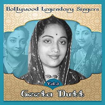 Bollywood Legendary Singers - Geeta Dutt, Vol.3