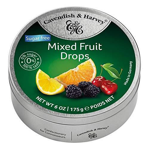 Cavendish BLIK SUGAR FREE MIXED FRUIT 9 x 175 gram