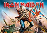 empireposter Empire - Póster de Iron Maiden Trooper (100% poliéster, 75 x 110 cm)