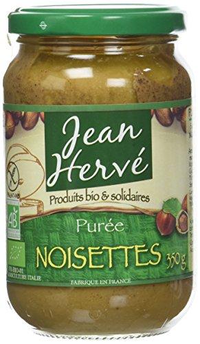 Jean Hervé Purée De Noisette Bio 350 G - Lot De 2