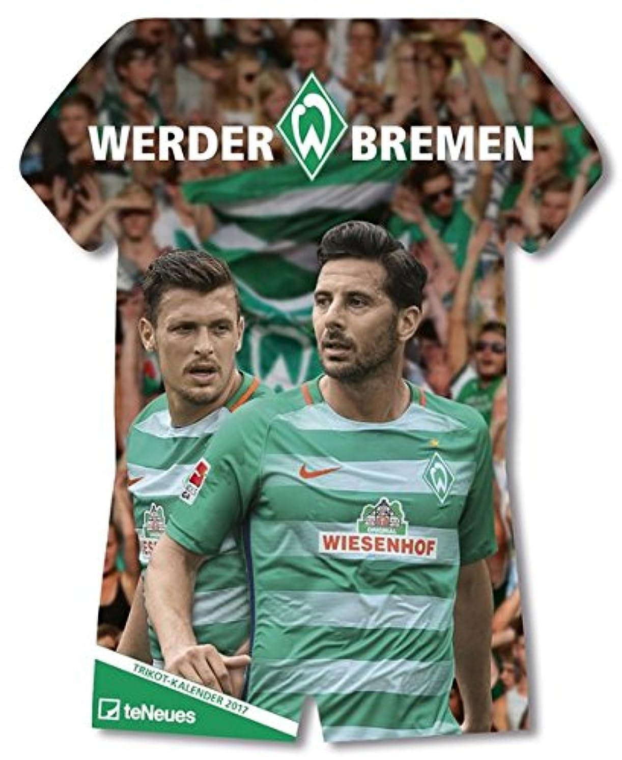 実業家エンジン農学Werder Bremen Trikotkalender 2017