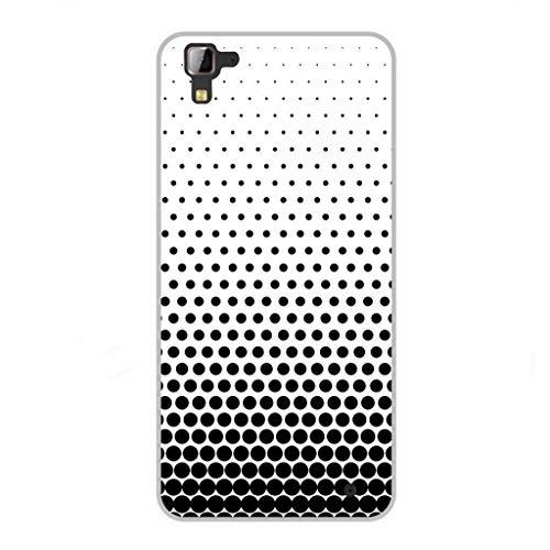 Todo Phone Store Funda Personalizada Diseño Impresion UV LED Silicona Dibujo TPU Gel [ABSTRACTAS 021] para HISENSE C30 Rock