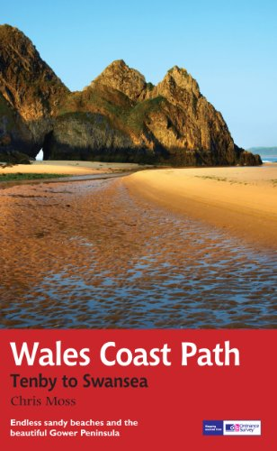 Wales Coast Path: Tenby-Swansea: Trail Guide (Trail Guides)