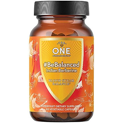 BeBalanced Indian Berberine Supplement 1000mg with Chromium and...