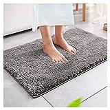 Magicfun Tappeto da bagno, tappeto da bagno assorbente antiscivolo, soffice tappeto in mic...