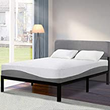 Olee Sleep 10 inch Aquarius Memory Foam Twin Mattress, Grey