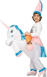 Kooy Inflatable Unicorn Costume Inflatable Halloween Costumes Inflatable Party Costumes Blow up Costumes Adult/Kids