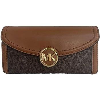 Michael Kors Fulton Large Flap Continental Wallet (2019) - Brown