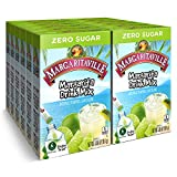 Margaritaville Singles To Go Water Drink Mix - Margarita Flavored, Non-Alcoholic Powder Sticks (12 Boxes with 6 Packets Each - 72 Total Servings)