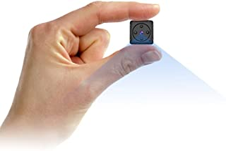 Mini Telecamera Spia Nascosta,NIYPS Full HD 1080P Portatile Micro Spy Cam Sorveglianza con Visione Notturna,Sensore di Mov...