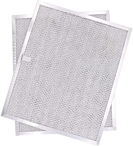 Aoheke (2-Pack) Aluminum Mesh Range Hood Filter replace Broan Model BPS1FA30, 99010299 for NuTone Allure WS1 QS2 and Broan QS1 30' Range Hoods