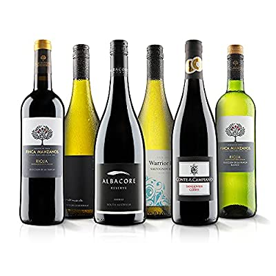 Mixed Wine Gift Selection - 6 Bottles (75cl) - Virgin Wines
