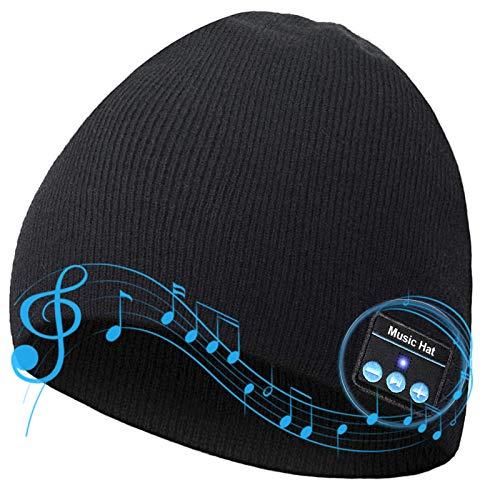 Bluetooth Beanie V5.0 Mütze, kabellose...