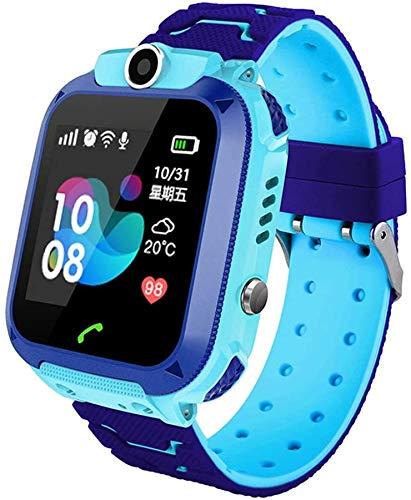 naack - GPS Reloj Inteligente Niña - Smartwatch Niños Reloj GPS Niños Localizador, Reloj Inteligente Niño Niña Regalo, Reloj Niño con Llamada Telefónica SOS Cámara Juegos Despertador GPS Tracker