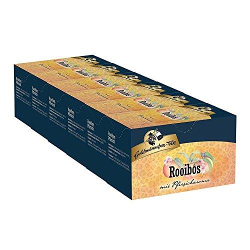 Goldmännchen-TEE Rooibos Pfirsich 6er Pack