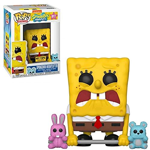 POP Animation: Spongebob- Weightlifter Spongebob