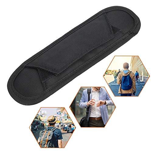 Schultergurtpolster, Lang Haltbare Tasche Gurtpolster Gepolsterter Schulterersatz Schwarz für Kamera Rucksack Gitarre