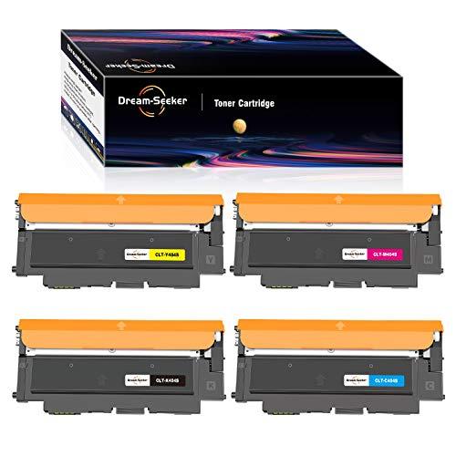 Dream-seeker Compatibile con Samsung CLT-404S CLT404S 404S Cartucce di Toner per Samsung SL-C430W SL-C480W SL-C480FW SL-C430 SL-C480FN SL-C480 SL-C433W SL-C482FW SL-C432 SL-C432W (4 Confezioni)