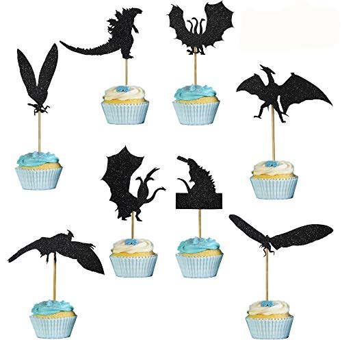 Godzilla Cupcake Toppers (Pack of 24)