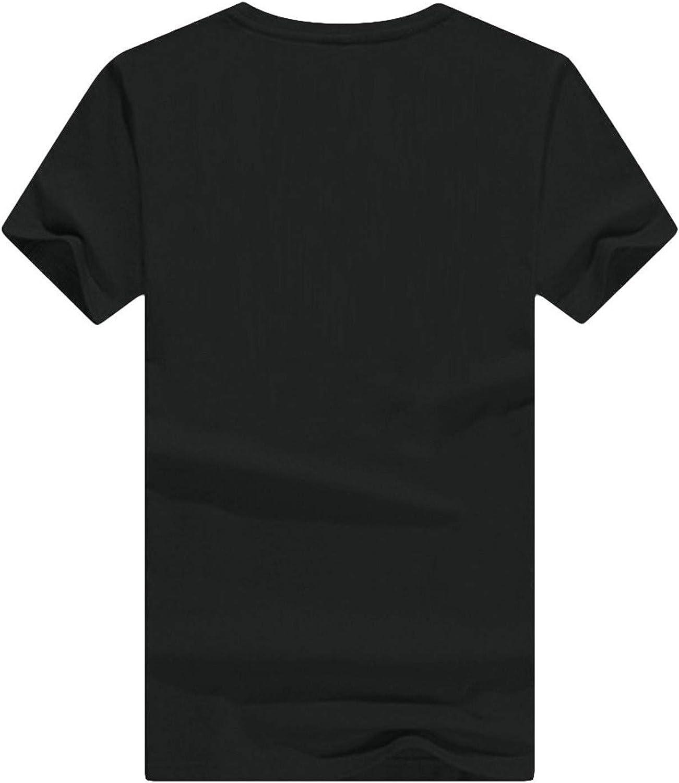 Christmas Shirt Cute Short Sleeve Santa Claus Graphic Print Tee Shirts Tops for Women