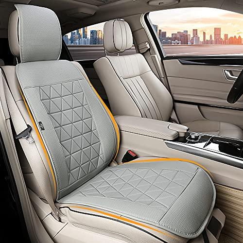 kingphenix Car Seat Cover - 1 Piece - Luxury Leather Car Seat...