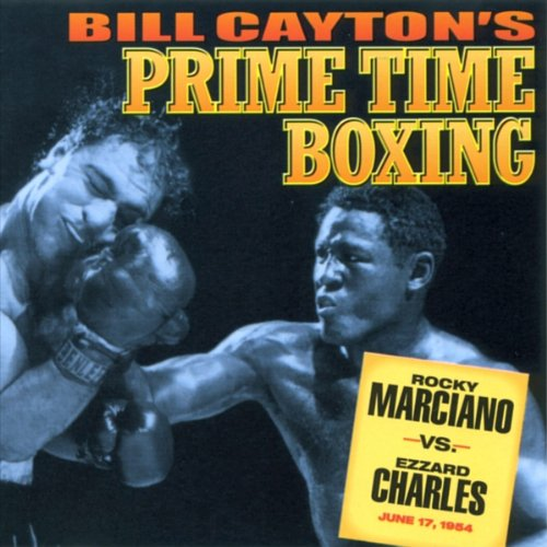 Rocky Marciano vs. Ezzard Charles audiobook cover art