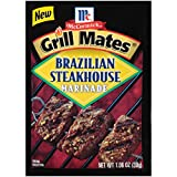 McCormick Grill Mates Brazilian Steakhouse Marinade, 1.06 oz (Pack of 12)