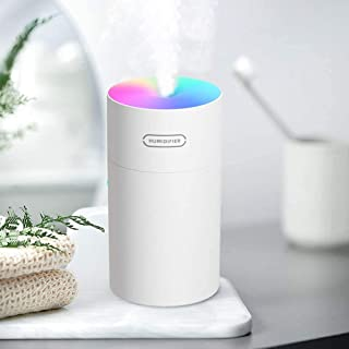 Scented Oil Diffusers with 7-Color LED Night Light Capacity Ultra-Quiet Auto-Off & Two Spray Modes Mini Desktop Humidifier...