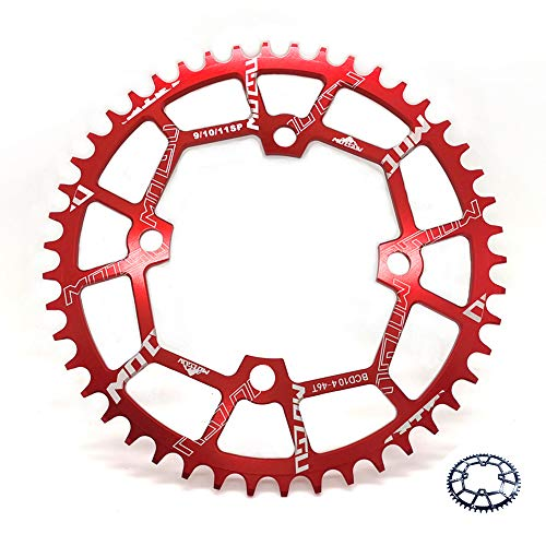 104BCD Narrow Wide Chainring 40T 42T 44T 46T 48T 50T 52T Round...