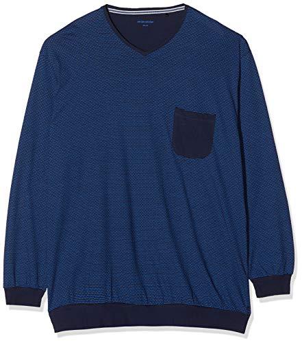 Seidensticker Herren Anzug lang Schlafanzug-167594 Zweiteiliger Schlafanzug, Dark Blau (Navy 815), 56