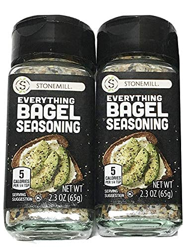 Stonemill Everything Bagel Max 40% OFF Seasoning Max 63% OFF 2 OF - SET