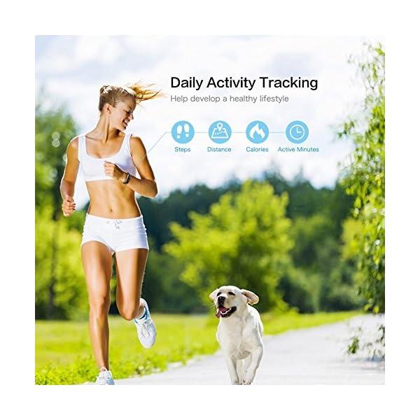 Fitness Tracker, letscom deportes Fitness Tracker reloj con Slim pantalla táctil, pulsera de actividad Tracker como… 4