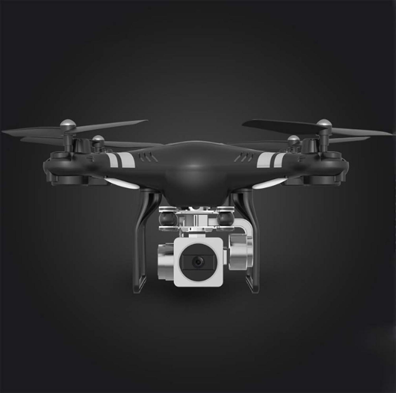 GW Drohne, ferngesteuertes Flugzeug, 270 ° verstellbare Kamera, hochauflsendes Luftfahrzeug 1080P, konstanter Luftdruck,schwarz