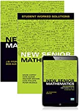 New Senior Mathematics Advanced Year 11 & 12 Student Book + Student Worked Solutions Book with Reader+